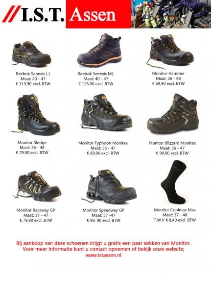Folder I.S.T schoenen